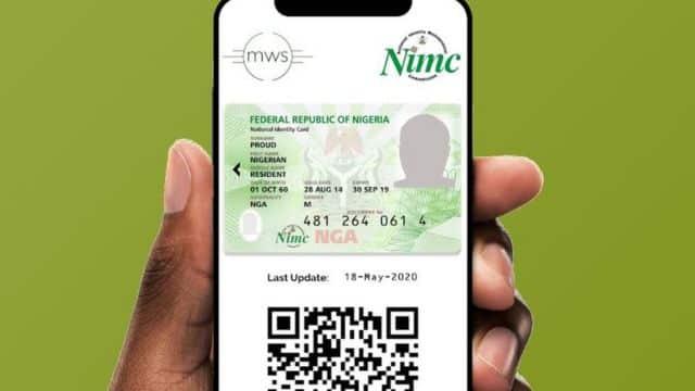 Link SIM Cards NIN NIMC Mobile App