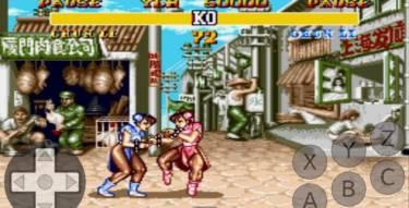 Street Fighter On Genplusdroid Emulator