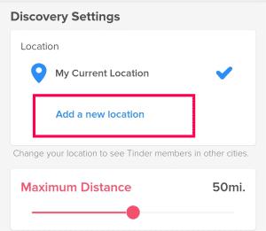 Hide Location In Tinder