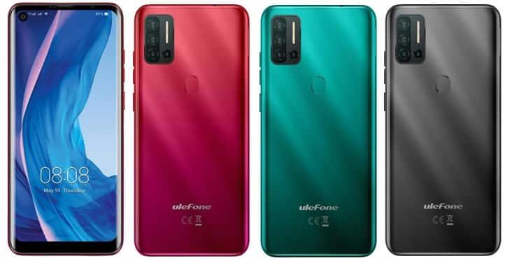 Ulefone Note 11p Colors