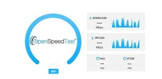 Vodafone Internet Speed test