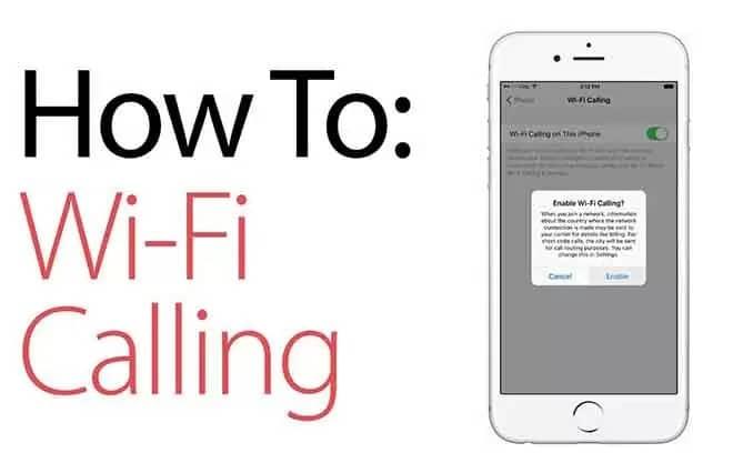 Wifi Calling On Iphone