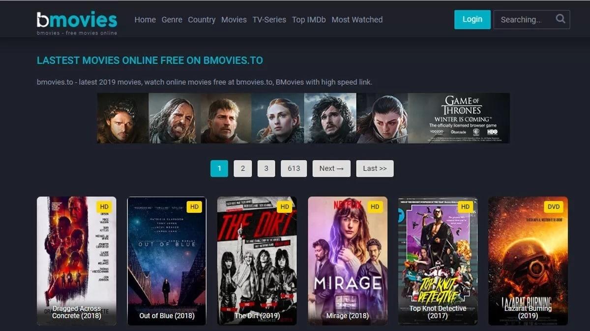 Bmovies Website For Free Movies