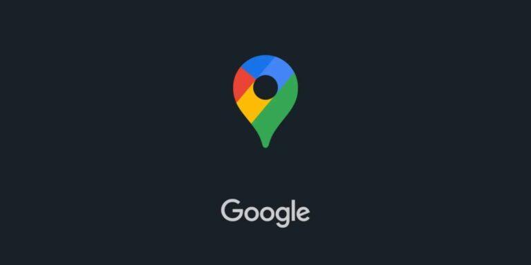 Google Maps Dark