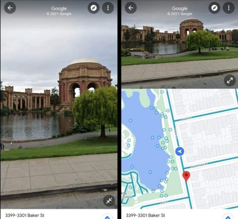 Maps Street View