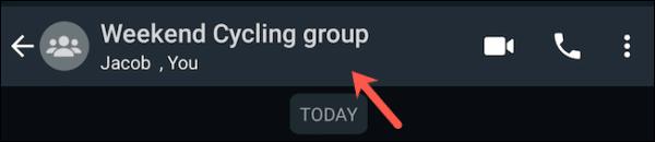 Whatsapp Group Profile Page