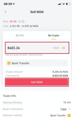Buy Sell Crypto Nigeria