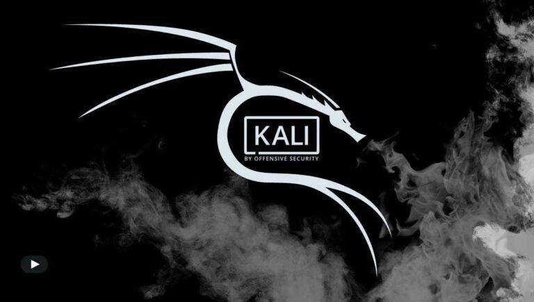 Install Kali Linux Windows 10 WSL 2