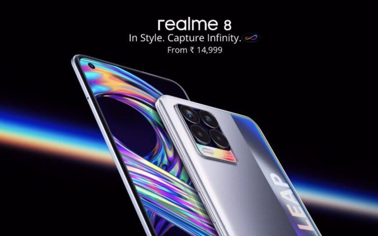 Realme 8 Specs