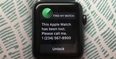 Lost Apple Watch