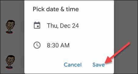 Message Schedule 7
