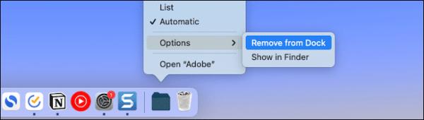 Remove Folder File Mac Dock
