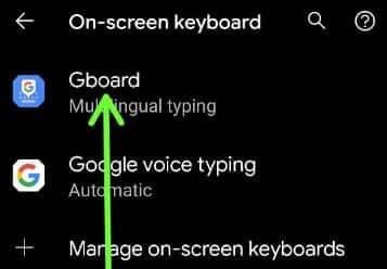 Change Keyboard Language Android 11