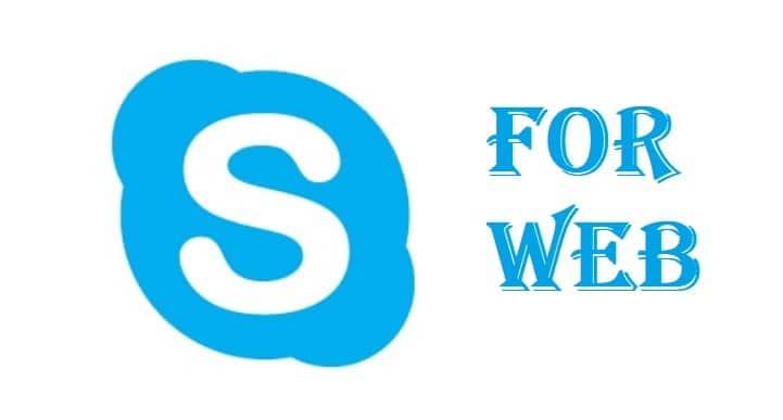 Use Skype On Internet Browser