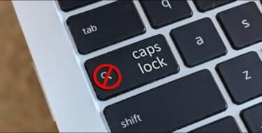 Chromebook Caps Lock