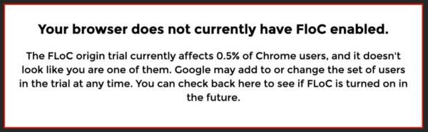Eff Google Chrome Floc Website Check