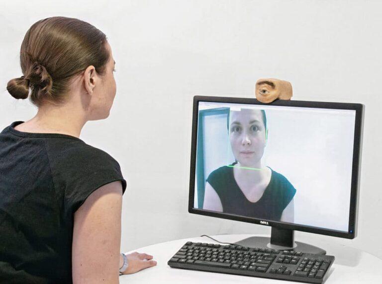 Eyecam Human Eye Shaped Webcam