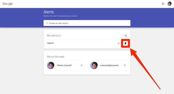 Set Up Customize Google Alerts