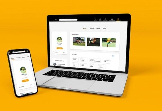Full Screen Smartphone And Laptop Mockup Design