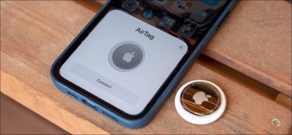 Apple Airtag Setup Screen
