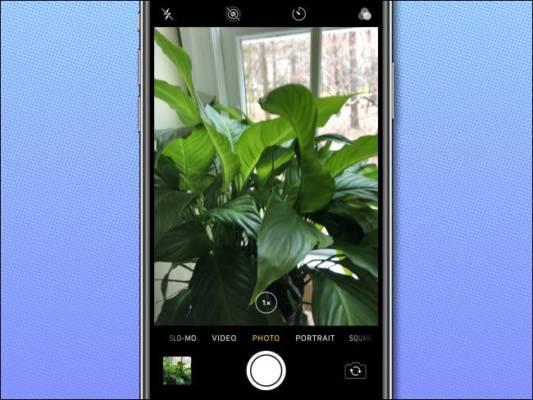 Iphone Camera App Example