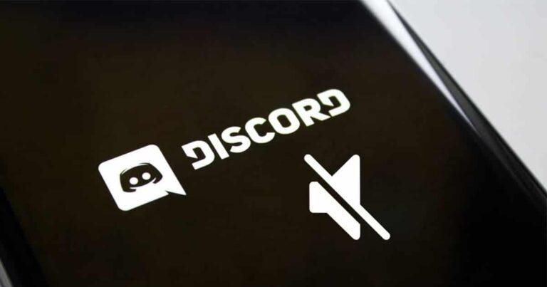 Mute Discord