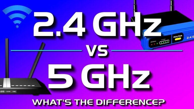 5 Ghz Or 2.4 Ghz
