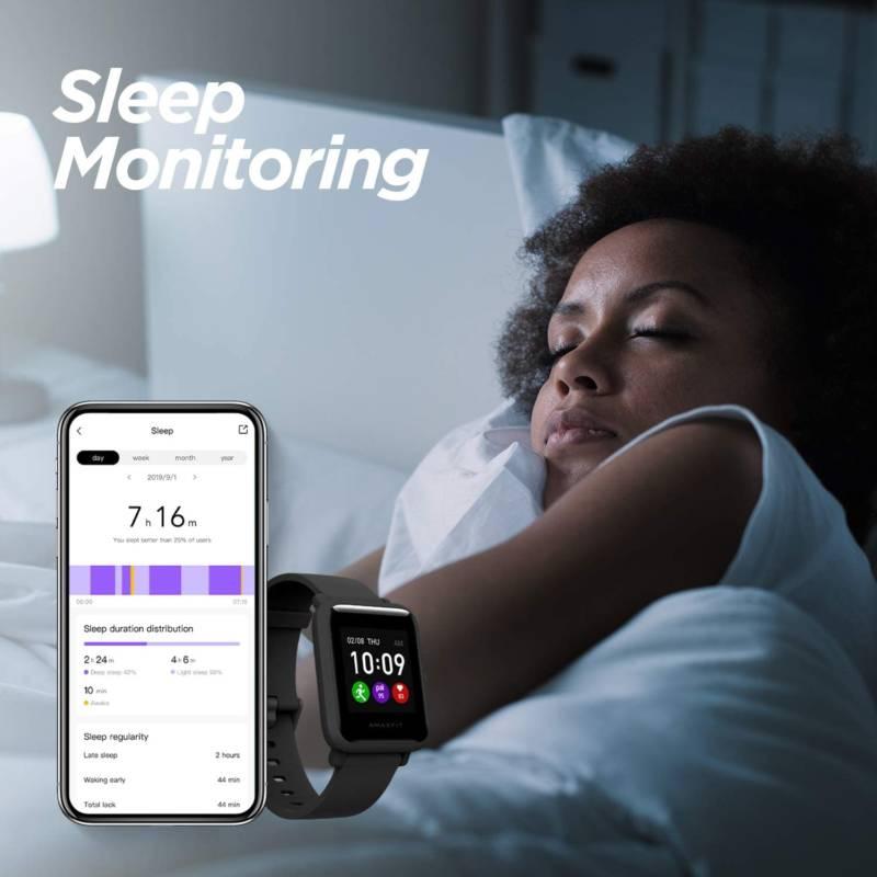 Amazfit Bip S Lite Sleep Monitoring