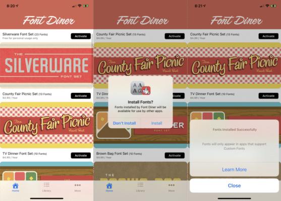 Add Custom Fonts On iPhone