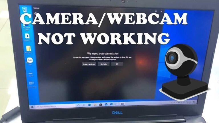 Dell Inspiron Webcam