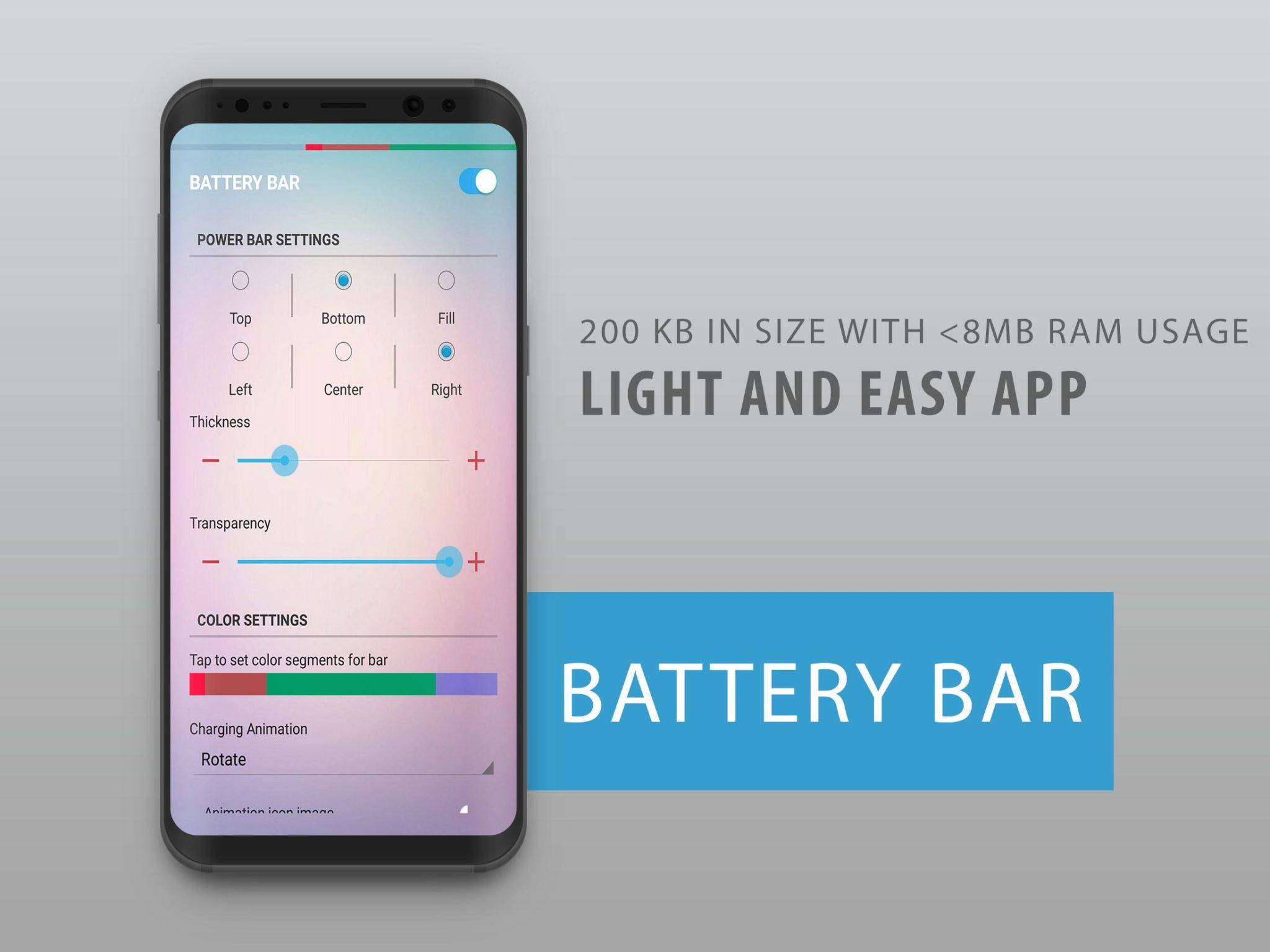 Energy Bar App