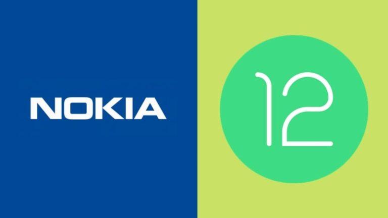 Nokia Android 12