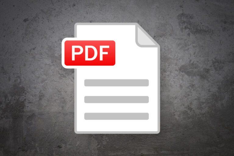 Type On A PDF