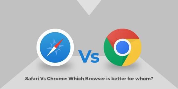 Safari Vs Google Chrome