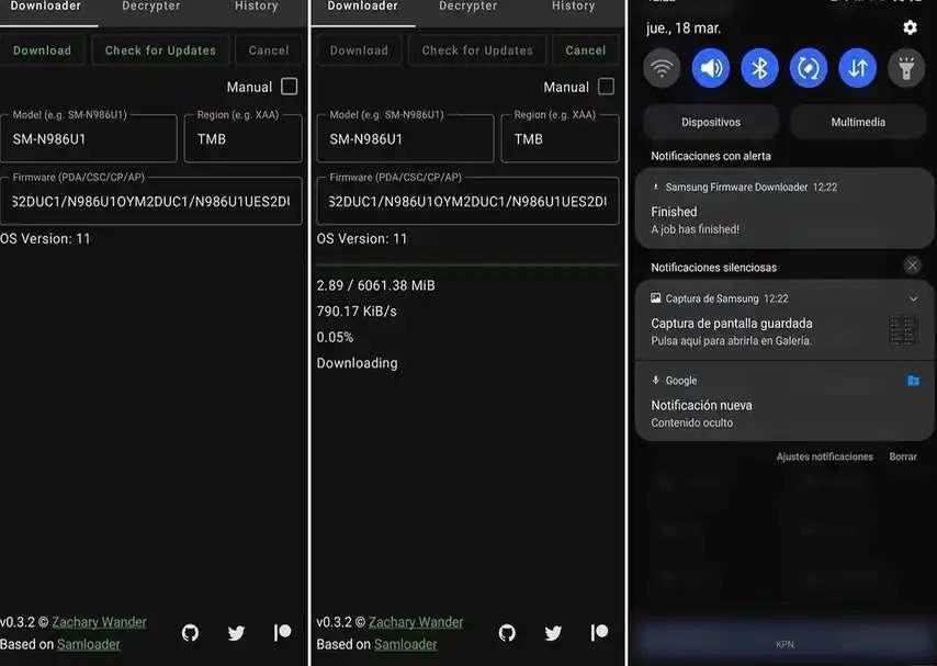 Samsung Firmware Downloader Downloads