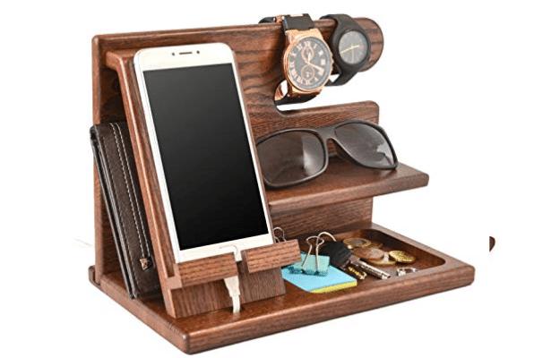Teslyar Wood Phone Docking Station 2.jpg