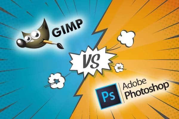 Gimp Vs Photoshop Featured