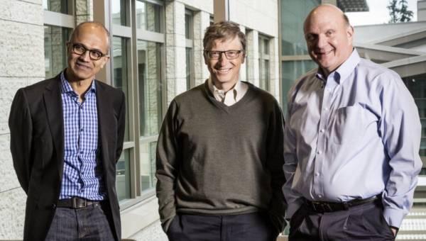 Microsoft Ceo Satya Nadella Bill