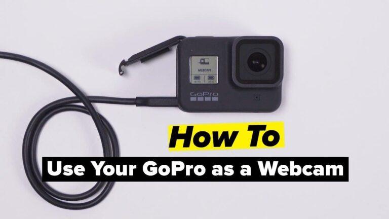 Gopro Hero As Webcam