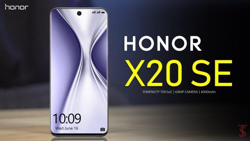 Honor X20 Se 1