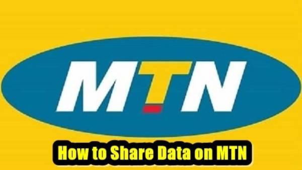 Share Data On MTN