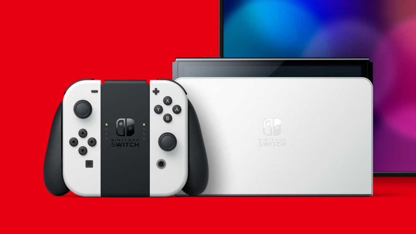 Nintendo Switch Oled Model The Joy Con
