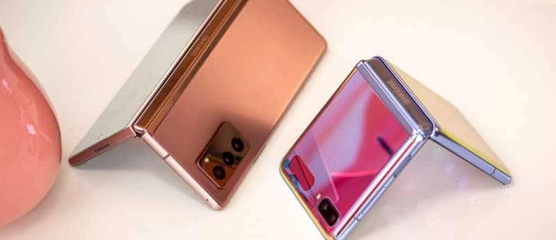 Samsung Galaxy Z Fold 3 And Z Flip 3