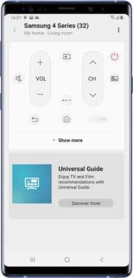 Samsung TV Remote Lost Alternatives