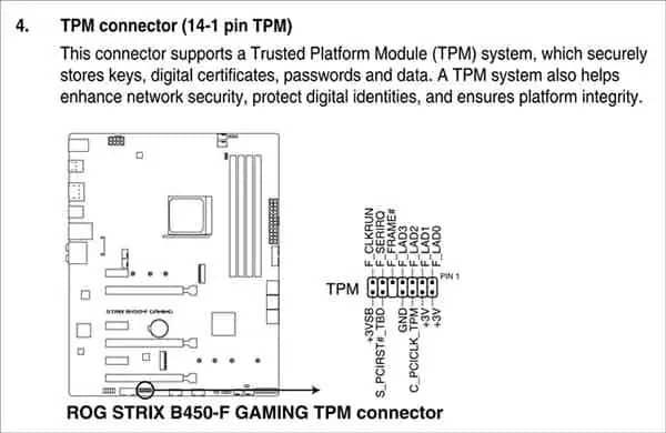 Tpm Header Pin Style