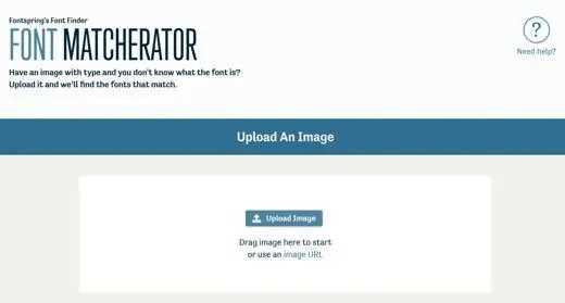 Font Matcherator
