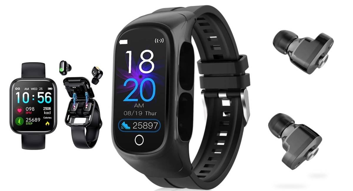 Interepro Smart Watch Black