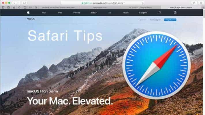 Safari On Mac