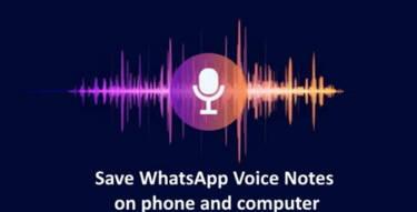 Convert And Save Whatsapp