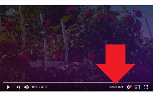 Screenshot Youtube Method